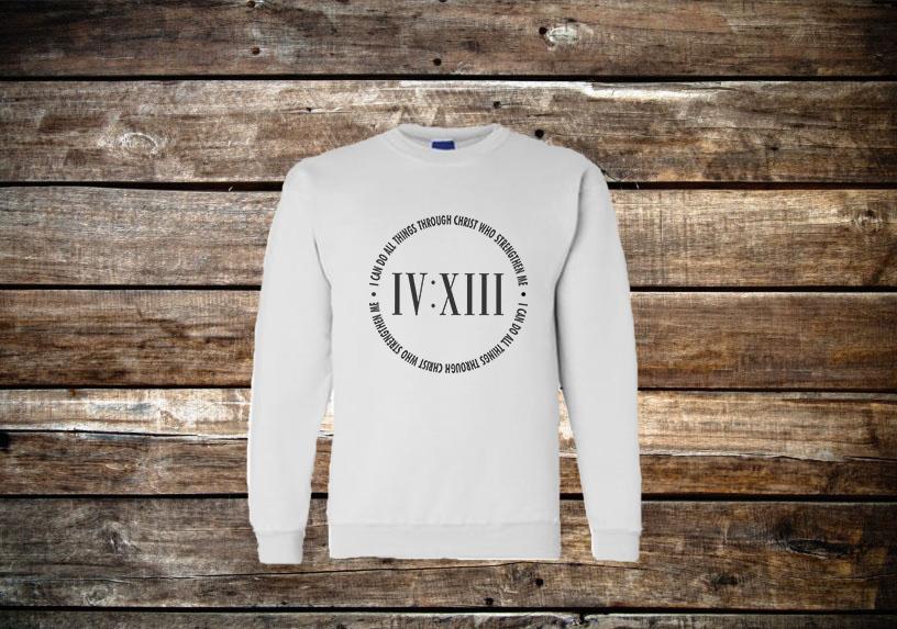 413 Scripture Sweatshirt