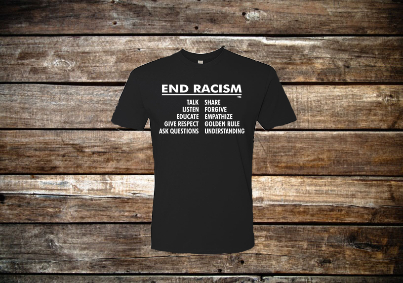 End Racism Short Sleeve T-Shirt