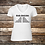 Thumbnail: End Racism Ladies V-Neck Short Sleeve T-Shirt