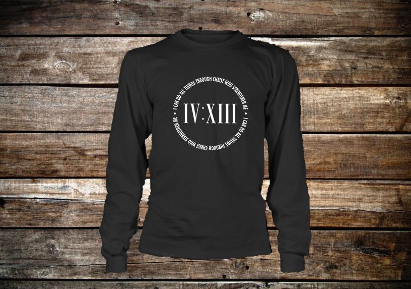 413 Scripture Long Sleeve T-Shirt