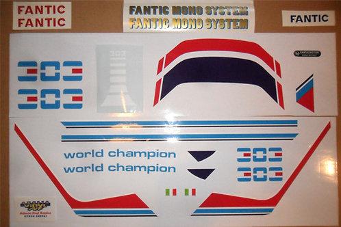Fantic 203/243/303 Series1 Sticker kit