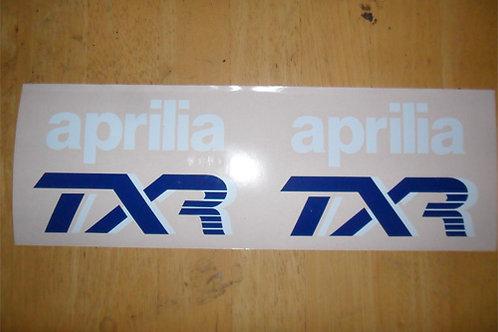 Aprilia TXR tank stickers