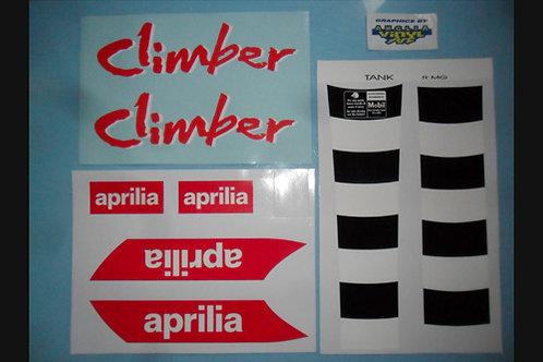 Aprilia Climber Sticker kit C