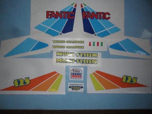 Fantic 125 Series9 sticker kit