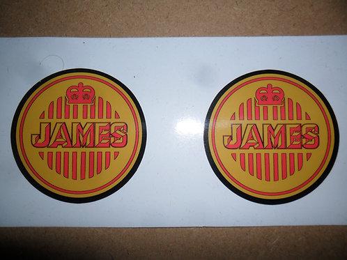 James tank stickers