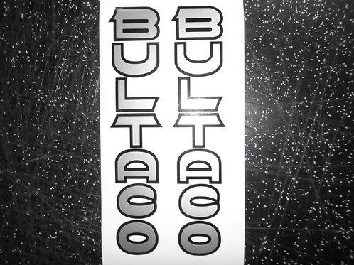 Bultaco fork stickers
