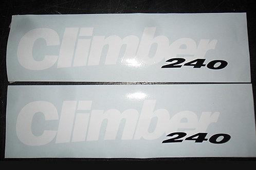 Aprilia Climber 240 Tank Stickers