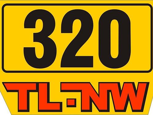 SWM 320 TL-NW sidepanel sticker