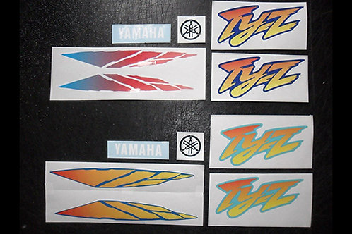 Yamaha TYZ sticker kit trials