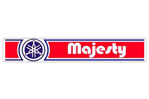 Yamaha Majesty side panel sticker