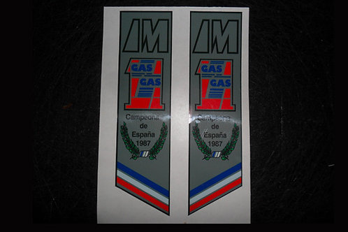 Gas Gas Aire fork stickers