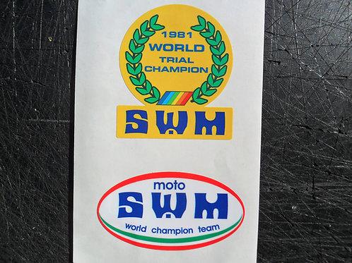 SWM tank/universal stickers