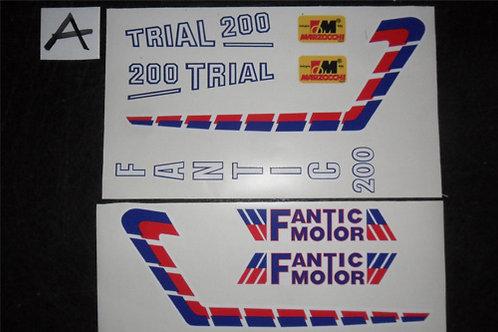 Fantic 200 Twinshock Sticker kit