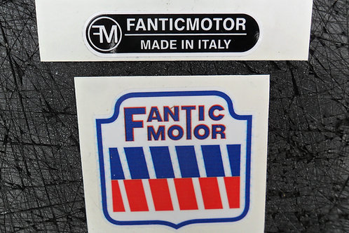 Fantic Aircooled mono & Twinshock Trials frame headstock & universal stickers