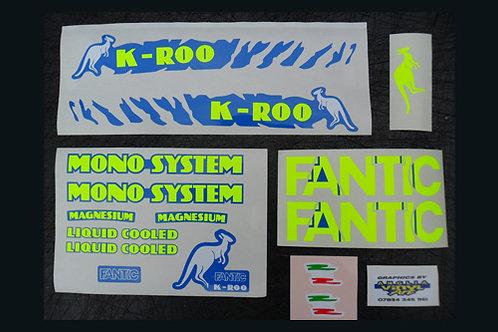 Fantic K-Roo Sticker kit B.