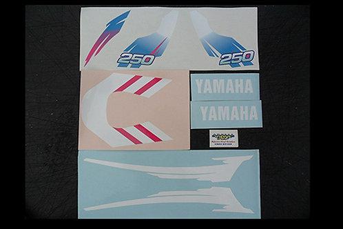 Yamaha TY 250 Trials Mono Pinky Sticker Kit