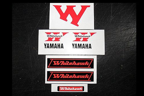 Yamaha Whitehawk sticker kit