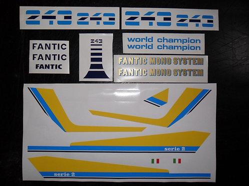 Fantic 203/243/303 Series2 sticker kit