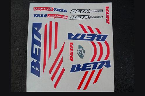 Beta TR35 Sticker kit