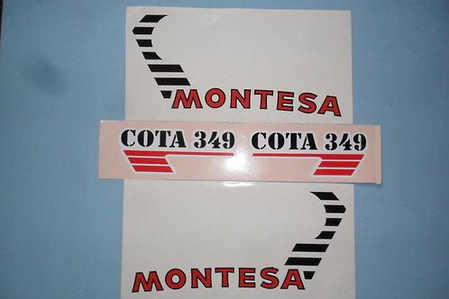 Montesa 349 sticker kit
