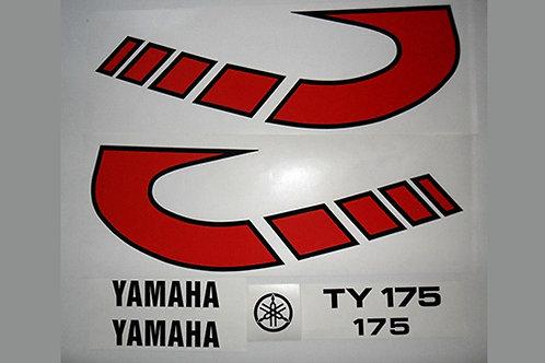 Yamaha TY 175 Twinshock sticker kit