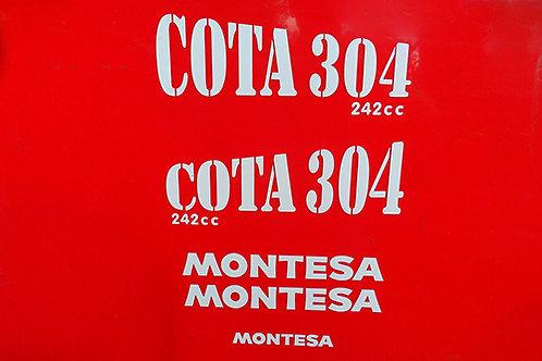 Montesa Cota 304 trials tank decals