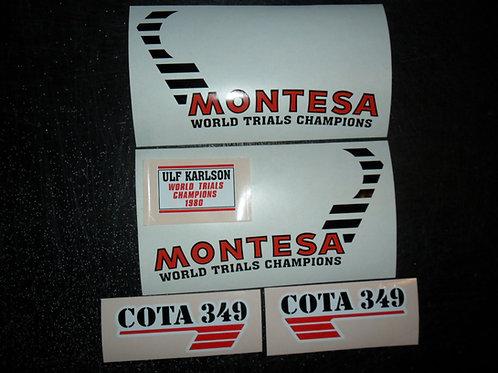 Montesa Cota 349 ULF Karlsson Replica sticker kit