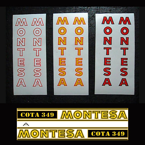Montesa Cota Fork stickers