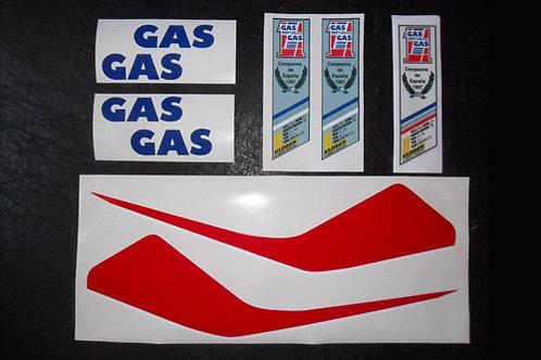 Gas Gas '88 Aire sticker kit