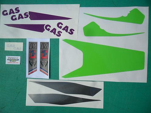 Gas Gas Aire 90/91 Sticker kit