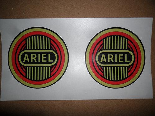 Ariel self adhesive vinyl tank stickers