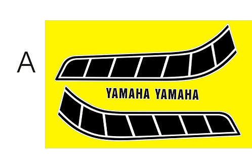 Yamaha Majesty/ TY Custom Tank stickers