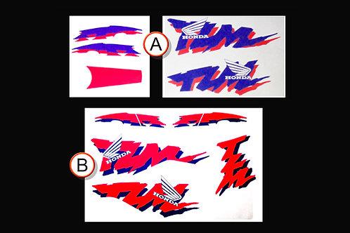 Honda TLM sticker kit