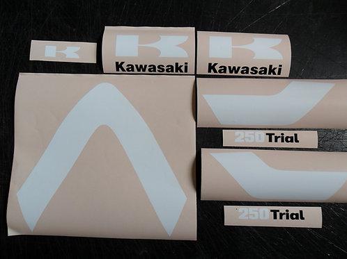 Kawasaki KT 250 sticker kit
