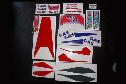 Gas Gas '89 Aire sticker kit