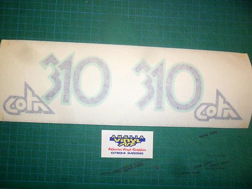 Montesa Cota 310 tank stickers