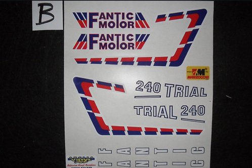 Fantic 240 sticker kit