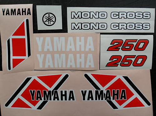 Yamaha TY 250 Trials Mono Sticker Kit