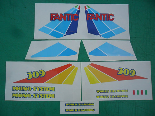 Fantic 309 Series9 sticker kit