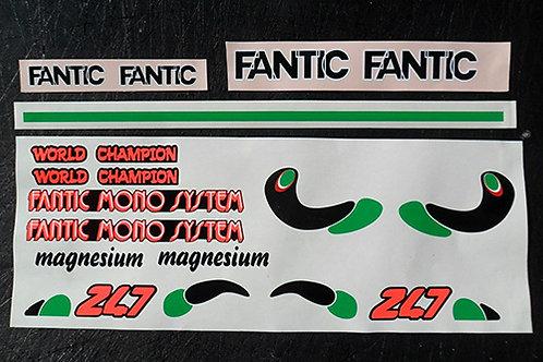 Fantic 207, 247,307 air cooled mono sticker kits-trials