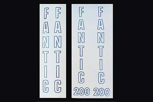 Fantic 200 & Fantic 240 fork stickers