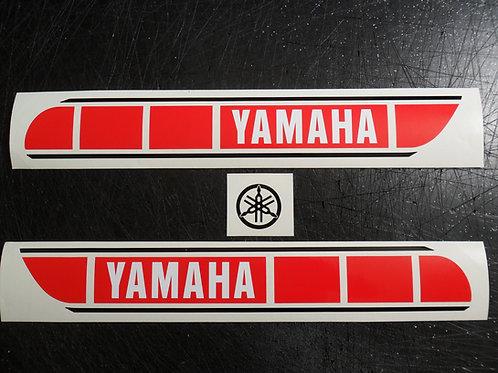 Custom Yamaha Majesty/TY tank stickers B