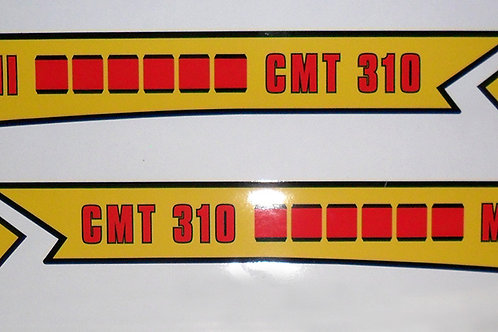 Armstrong CMT 310 Mk 2 tank decals