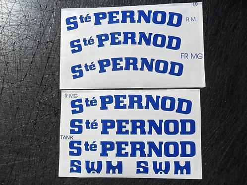 SWM Pernod sponsor sticker kit