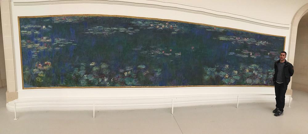 Les nymphéas de Claude Monet, L'Orangerie