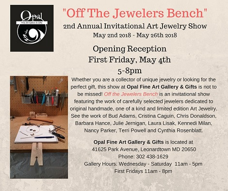 Off The Jewelers Bench Opal Fine Arts Gallery & Gifts