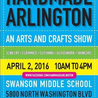 Coming soon, to Handmade Arlington