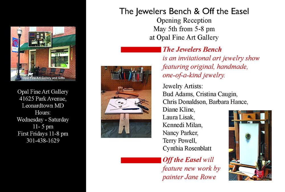 Jewelers Bench at Opal Fine Art Gallery, Leonardtown, MD