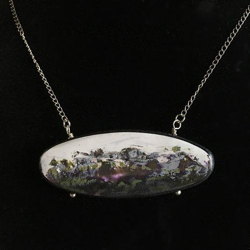 Oval Massif Pendant Necklace