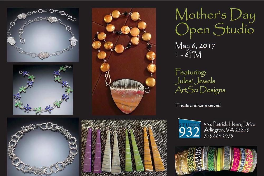 Mother's Day Open Studio at 932 Studio, Arlington, VA
